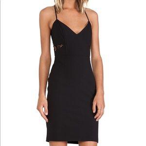 Mason Black Dress with Lace Back